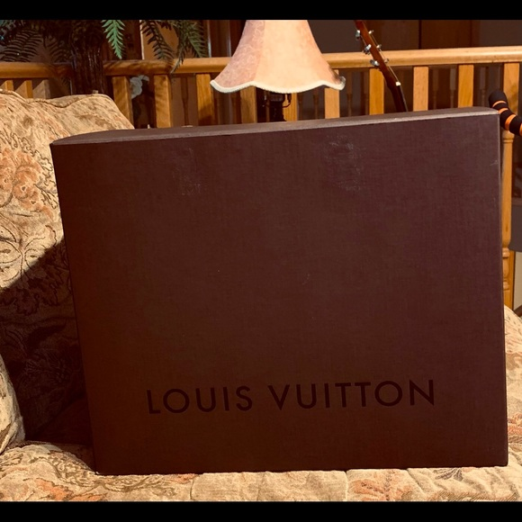 Rare Authentic LV Bag Box
